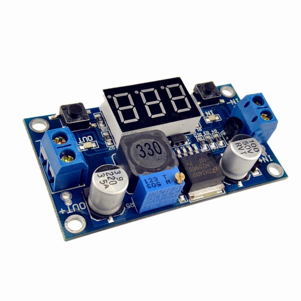 voltimetro arduino LM 2596
