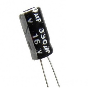 Capacitor 330u 16v