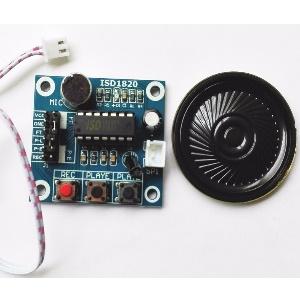 modulo grabacion voz sonidos ISD 1820
