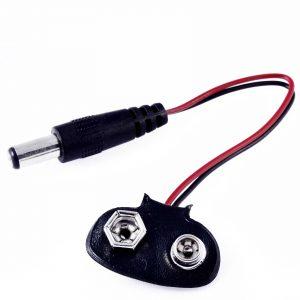 adaptador bateria 9v